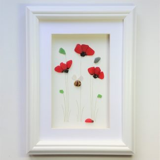 sea glass poppies gifts for her