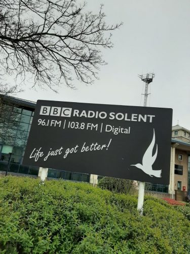 BBC Radio Solent to the Alun & Lou show