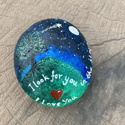 Shooting Star Remembrance Stone