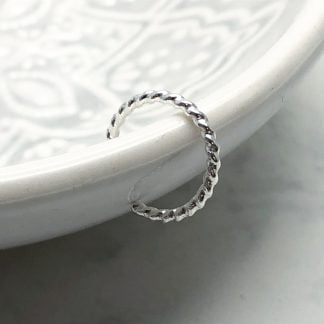 sterling sliver ear cuff