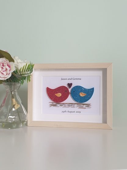 Love birds - With a Quill and a Stitch