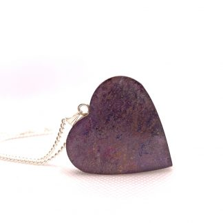 lavender sparkle necklace