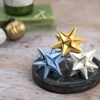 Origami Blooms set of 3 paper stars