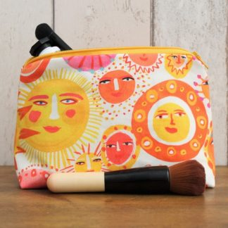 Fabric makeup bag