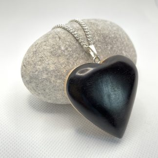 ebony and maple heart
