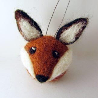 Red Fox christmas bauble