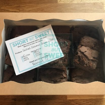 Boxed Vegan Brownies
