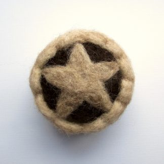 Mince Pie christmas bauble