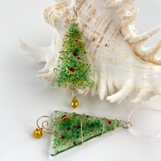 Green and gold Christmas Tree decoration