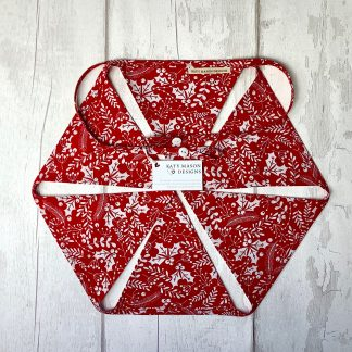 Christmas Bunting - Red