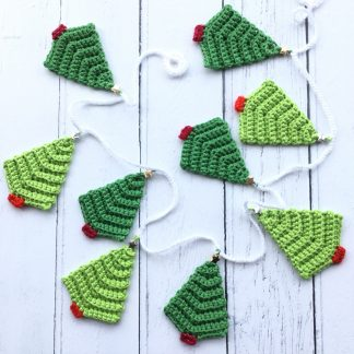 Christmas tree garland.