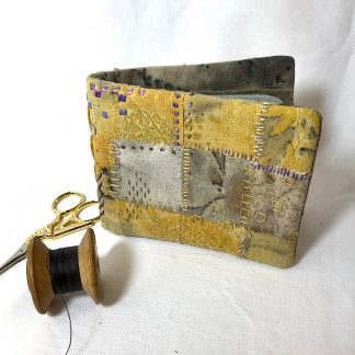 Yellow needle case