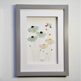 sea glass flowers gifts for her