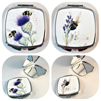 Bees Mirror Compacts Col;lage r