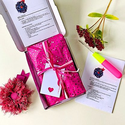 Letterbox packaging for craft kits