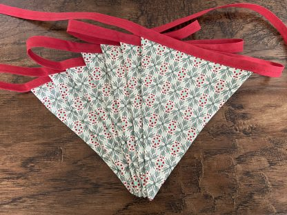 Christmas Snowflakes Double Sided Cotton Bunting