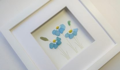 sea glass forget me nots