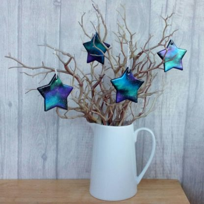 Handmade Galaxy Star Hanging Decoration