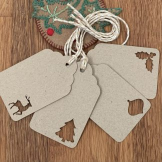 gift tags christmas cut out choices