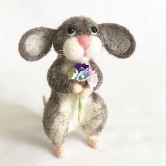Needle felted mouse main picture