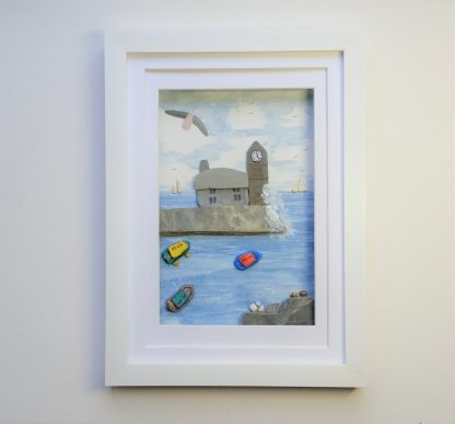porthleven cornwall coastal wall decor