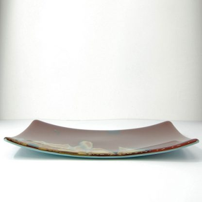 Side view of Special Reactive Glass Platter