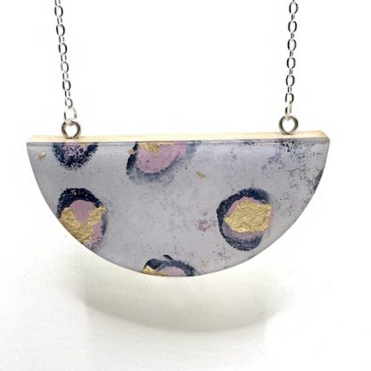 rose gold mimosa 2 necklace