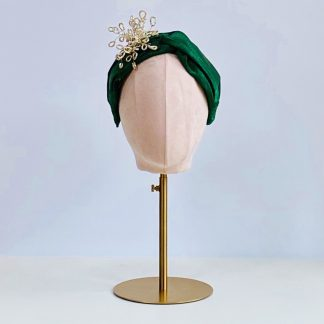 Spruce - Sparkly Turband style headband with optional trim