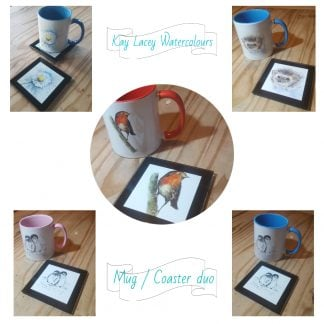Mug & Coaster collage KLW