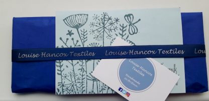 Example of gift wrapping - Louise Hancox Textile Artist