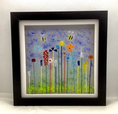 Fused glass Glassy Garden Box Frame