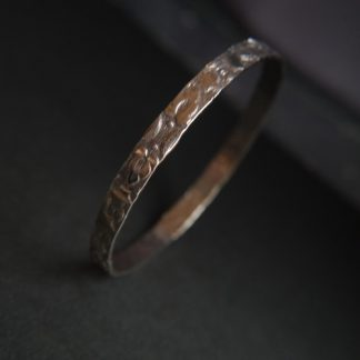 Vintage Style Patterned Bangle