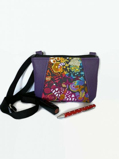 Small boho crossbody bag