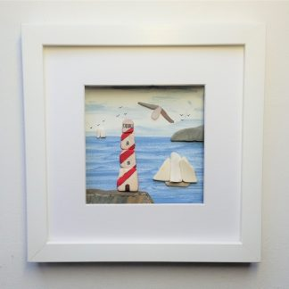 lighthouse, coastal wall decor