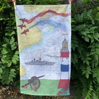 Armed forces Day tea towel by Hannah Wisdom Textiles