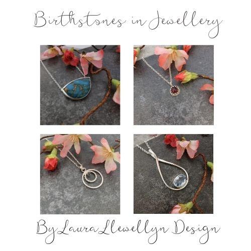 Birthstones in jewellery