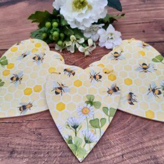 Bee Wooden Bunting