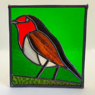 Robin red breast hanging panel