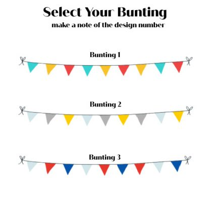 personalised family welly boot frame bunting