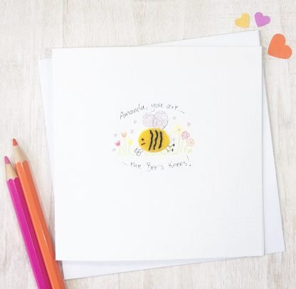 Handmade Bees Knees Any Occasion Card