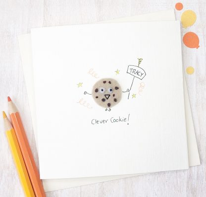 Handmade Clever Cookie Celebration Card