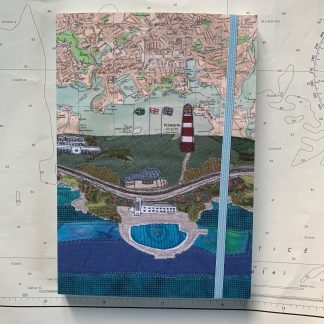 Plymouth Hoe notebook Hannah Wisdom Textiles