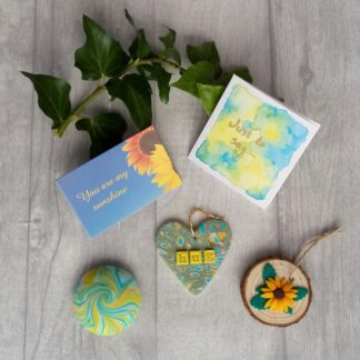 You are my sunshine handmade care package