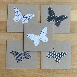 #supersecondssaturday butterfly notecards