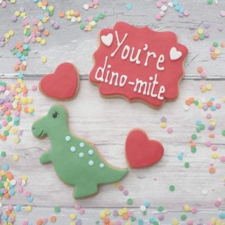 you're dinomite cookie gift