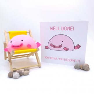 well done card and gift
