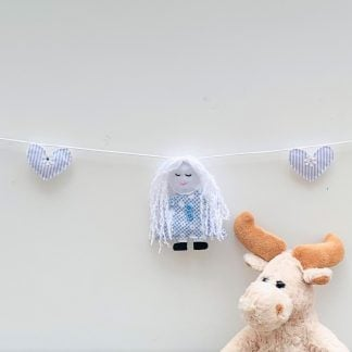 Blue Dolly bunting