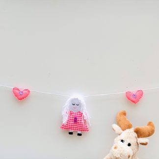 Pink Dolly Bunting