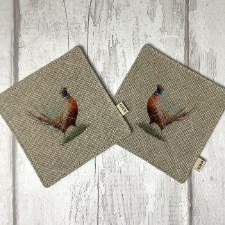 Pheasant Coaster Set