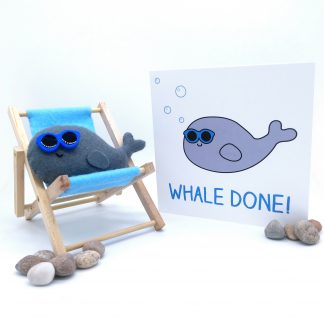 well done card and gift set